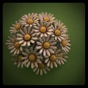 Jewelry - Vintage Daisy Brooch
